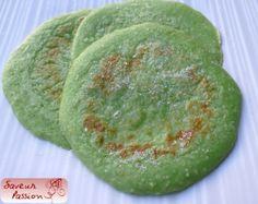pancake pandan noix de coco (sans lactose)