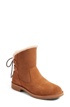 8ceed76692472 Naiyah Lace-Back Genuine Shearling Boot for shopping. New offer for UGG   Naiyah Lace-Back Genuine Shearling Boot from best store online