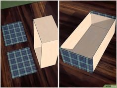 cardboard art ideas easy inspirational how to cover a shoebox 15 steps with wikihow of cardboard art ideas easy Cardboard Design, Cardboard Paper, Cardboard Crafts, Glue Crafts, Shoe Storage Small, Scrapbook Paper Storage, Wall Storage Systems, Paper Shoes, Fabric Markers