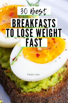 30 best breakfast ideas to lose weight fast. Weight loss recipes focused on brea… 30 best breakfast ideas to lose weight fast. Weight loss recipes focused on breakfasts. These healthy breakfast ideas are well balanced nutritionally and weight loss driven. Healthy Meal Prep, Easy Healthy Recipes, Easy Meals, Keto Recipes, Cod Recipes, Cookie Recipes, Dinner Recipes, Eating Healthy, Snacks Recipes