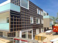 Voortgang bouw Koningskaars te Schiermonnikoog - 30 mei 2016 - Van Wijnen Recreatiebouw BV