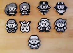 Perler bead Pokemon characters $18.00 for the set.