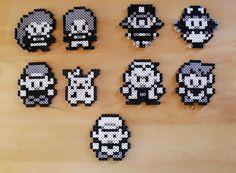 Items similar to Overworld Pokemon personajes Sprite imán Set de 9 on Etsy