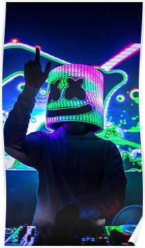 Marshmello Dj Hd Marshmello Dj Wallpapers Music Wallpaper Dj Music