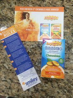 #freesamp #emergencchew @emergenc love it!! All these yummy vitamins