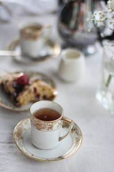Tea and Cherry Scones