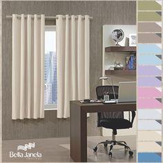 Ambientes mais escurinhos possibilitam momentos de conforto e aconchego. Disponível em 15 opções de cores, o Corta-Luz PVC Bella Janela vai deixar sua hora de descanso muito mais relaxante! Aproveite para escolher qual cor combina melhor com seu quarto!