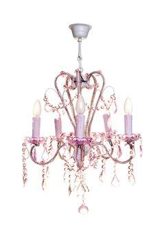 Pink Chandelier Would Be So Cute In A Baby S Nursery Little Bedroom
