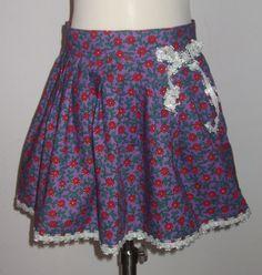 Lovely purple party skirt size 116-122 by SorinelaSavini on Etsy