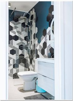 Modern design bathroom with shower cabin Modern Bathroom Design, Modern Design, Shower Cabin, Perfect Place, Condo, Design Interior, Curtains, Vacation, Houses