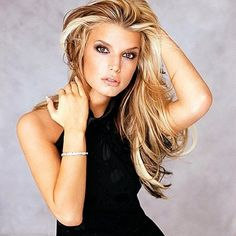 Blonde Hairstyles With Dark Underneath Jessica Simpson Design 400x400 Pixel