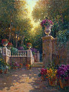 tuscan gardens photos