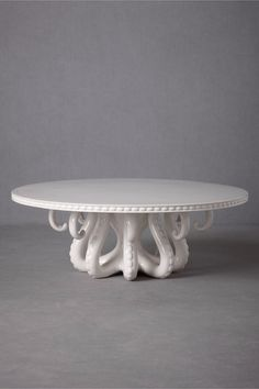 Octopus cake stand