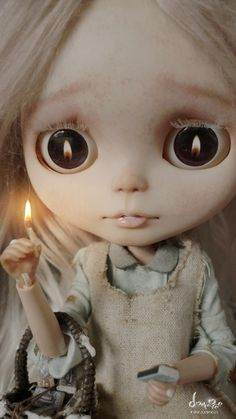 dollshousedropin:  Would you like to buy some matches? (by dollmofee)