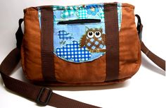 Schnabelina Bag, Eulen von Bluebirdys Nest  auf DaWanda.com