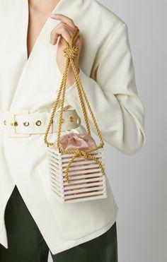 Vanda Bag by Montunas Fashion Handbags, Fashion Bags, Diy Handbag, Linen Bag, Beaded Bags, Luxury Bags, Beautiful Bags, Leather Bag, Leather Handbags