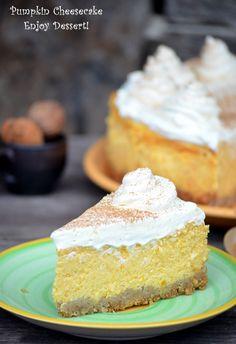 Pumpkin Cheesecake, Something Sweet, Cheesecakes, Vanilla Cake, Baking, Desserts, History, Food, Postres
