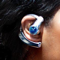 12360bfffe2 Becca Spring Swarovski Crystal Bluetooth Headset (Silver/Blue)