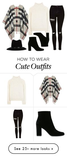 """Cute Outfit for Thanksgiving"" by ashantiannasmith on Polyvore featuring Burberry, Topshop, Yves Saint Laurent, Vanessa Bruno Athé and rag & bone"