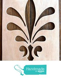 """Beautiful Large Sized Hand Crafted MDF 'Decorative Floral Design' Drawing Template / Stencil - Size: 12"""" x 8.5"""" Overall (30cm x 21cm) from The Andromeda Print Emporium https://www.amazon.co.uk/dp/B01KC4ON9W/ref=hnd_sw_r_pi_dp_ivURxb4EE8B51 #handmadeatamazon"""