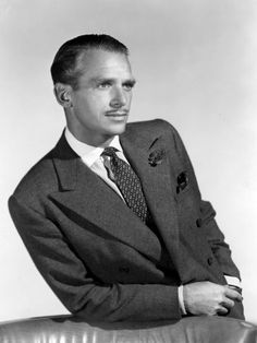 Douglas Fairbanks jr. (1909-2000) US Navy. He joined the naval reserves before the war.  During the war he served on the Battleship Massachusetts and was a Commando raider sent on several land attack missions. He retired from the reserves, years later, as a full Captain.