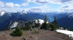 Desolation Peak, mountain hiking