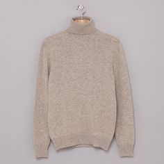 The A.P.C. Merino Roll Neck, class, simplicity and classic in one.