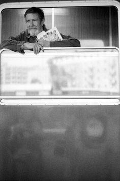 John Cage' train Bologna 1978 - Photo by Enrico Scuro