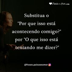 Substitua seu pensamento #reflexão #reflexãododia #pensamentos #pensamentododia Soup For The Soul, Anti Social, Good Books, Reflection, Like4like, Romantic, Humor, Motivation, Feelings