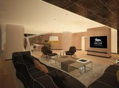 MGM Premier Suites Collection http://brandedpleasures.com/mgm-1-3-billion-luxury-resort-reveals-premier-suite-collection/