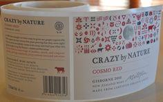 Crazy by Nature label, Millton Vineyard, Gisborne