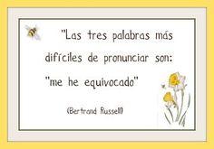 Resultado de imagem para Bertrand Russel frases en espanhol