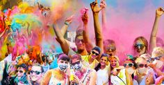 Holi One Colour Festival - 21 March, Grand Parade, Corner Darling Street and Corporation Road, Cape Town