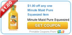 New Printable Coupons for K-Cups, Juice, Tea, and more for the entire family | The Happy Housewife