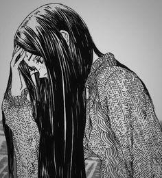 Sad Anime Girl, Manga Girl, Anime Art Girl, Pretty Art, Cute Art, Aesthetic Art, Aesthetic Anime, Manga Anime, Fille Anime Cool