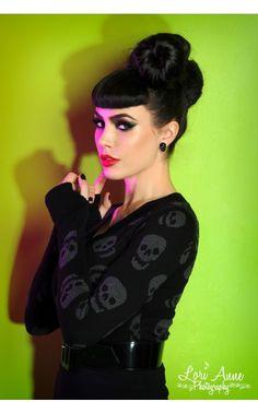 http://www.pinupgirlclothing.com/new-items/lust-for-skulls-sweater.html