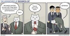 Hilarious Comics Show How Work Would Be If Your Boss Was a Cat - BlazePress