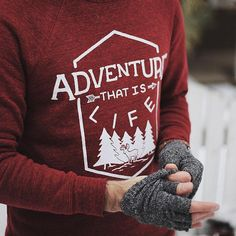 """""""Adventure That Is Life"""" Sweater - of every dollar earned will be donated to a charity that aids in the rescue and rehabilitation of children from sex trafficking. Mens Fashion Sweaters, Ethical Shopping, Unique Gifts For Men, Type S, Fit S, Ethical Fashion, What I Wore, Boy Fashion, Christmas Sweaters"""