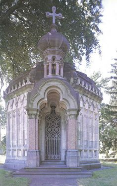 Garrison Mausoleum, Green-Wood Cemetery Brooklyn Cemetery Monuments, Cemetery Statues, Cemetery Headstones, Old Cemeteries, Cemetery Art, Angel Statues, Graveyards, Greenwood Cemetery, Champs