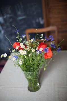 Wspaniały bukiet moich ulubionych polnych kwiatów.