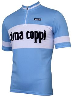 Cima Coppi Retro Jersey - Short Sleeve
