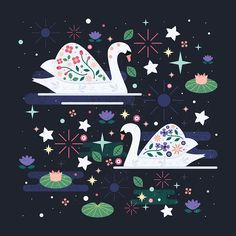 Swans on Stars