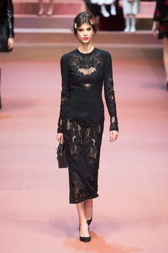 FALL 2015 RTW DOLCE & GABBANA COLLECTION
