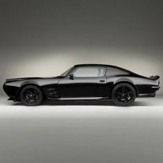 I want it all in black (classic cars, muscle car)