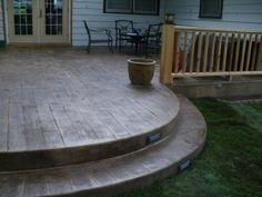 Bob Cook Homes, LLC.   Wichita Home Builders   Wichita New Home  Construction Custom. Wood Stamped ConcreteCustom Home ...