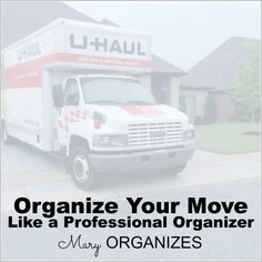 Organize Your Move Like a Professional Organizer -- Free Printable -- #moving #organization -- Click here: :