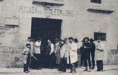 Posada del León de Oro, Madrid, en 1897 (Autor desconocido)