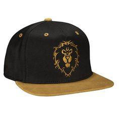 J!NX : World of Warcraft Legendary Alliance Premium Snap Back Hat