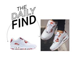 """""""Daily Find: Nike London Air Max 90 Sweets Sneakers"""" by polyvore-editorial ❤ liked on Polyvore featuring moda, NIKE ve DailyFind"""