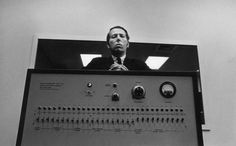Stanley Milgram with his shock machine